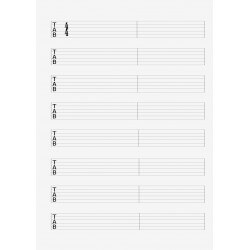 Revelation Song D TAB intentionally shown blank, download will be the complete TAB image.